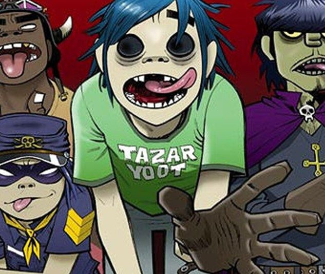 Gorillaz Releases 4 New Tracks and Videos from Their New Album Humanz