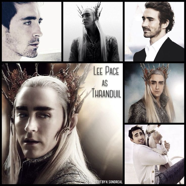 Lee Pace as Thranduil by Heather Sondreal…Lee Pace is fabulous. And attractive. And wonderful.