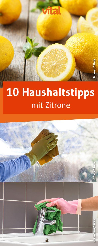 Zitronensaft eignet sich nicht nur für die Vinaigrette. Was viele nicht wissen: Er ist auch ein ideales Hilfsmittel bei körperlichen Beschwerden und beim Reinigen der eigenen vier Wände.