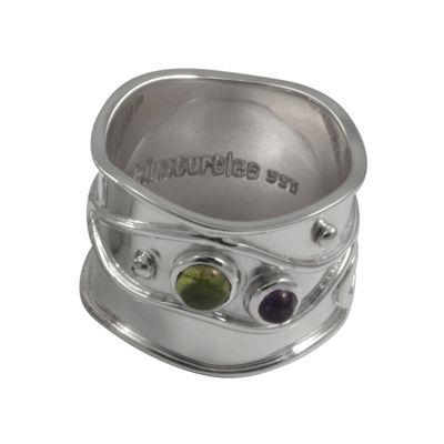925 Sterling Silver Saray Gemstone ring