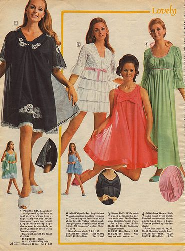 117 best the history of sleepwear images on Pinterest | Vintage ...