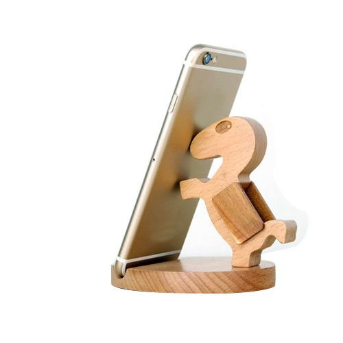 Mobile Phone Wooden Holder
