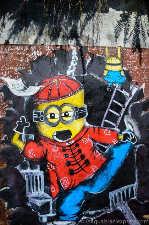 George Town (喬治市) in Penang  Street art in George Town  http://rafiquaisraelexpress.com/2014/07/13/street-art-in-malaysia/