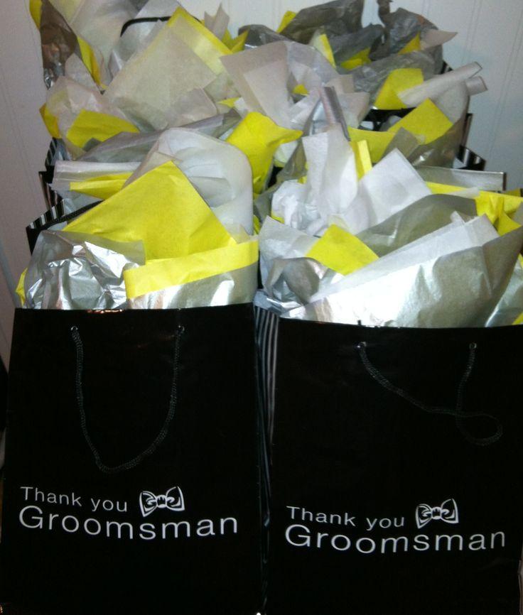 best 25  groomsmen gift bags ideas on pinterest