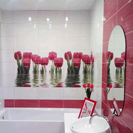 керамическая плитка  для ванной и кухни Нефрит Фрэш
