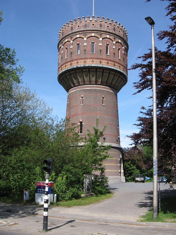 ♥ Watertoren Kalverbos, Delft, anno 1895