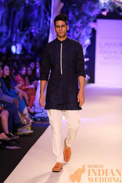 Indian hipster fashion| Manish Malhotra Sweet Spring Collection {Lakme Fashion Week 2014} - Gallery - TheBigFatIndianWedding.com