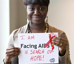 I am Facing AIDS in search of hope! from womenshealth.gov