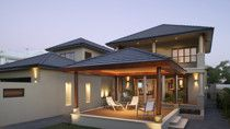 Choose an exterior colour for your home that will dictate its personality