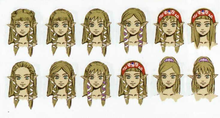legend of zelda skyward sword hair concept - Anime and Manga - Games ...