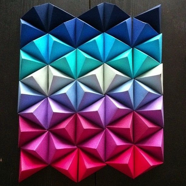 Les 25 meilleures id es de la cat gorie toile origami sur - Comment offrir un cadeau de facon originale ...