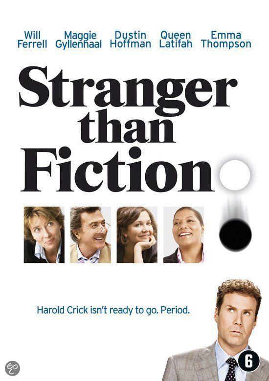Stranger Than Fiction. Het leven van een eenzame belastinginspecteur wordt overhoop gehaald wanneer hij ontdekt dat hij de hoofdpersoon is in het nieuwe boek van een bekende schrijfster.