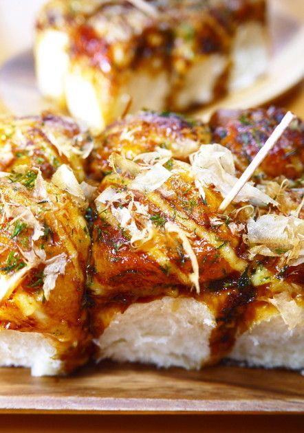 ランチ&おやつ♪たこ焼き風ちぎりパン by ほっこり~の [クックパッド] 簡単おいしいみんなのレシピが228万品