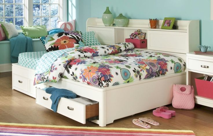 Legacy classic bookcase lounge bed full collection park for Bedroom ideas to boost intimacy