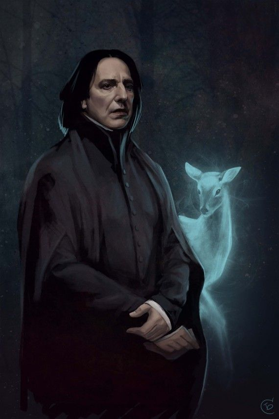 Harry Potter : les plus beaux fan arts du Professeur Rogue - Jeff Delgado