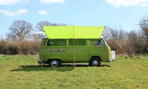 VW Campervan Awning/Sun Canopy – Grasshopper Green