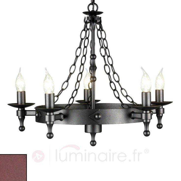 les 25 meilleures id es de la cat gorie lustre fer forg. Black Bedroom Furniture Sets. Home Design Ideas
