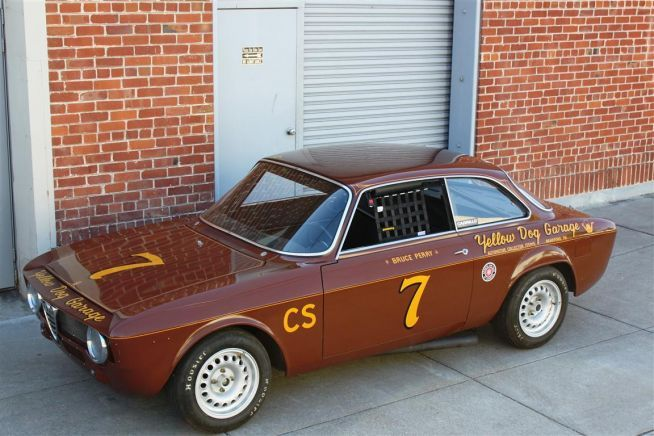 1965 alfa romeo giulia sprint gta yellow dog garage for Garage alfa romeo villeneuve d ascq