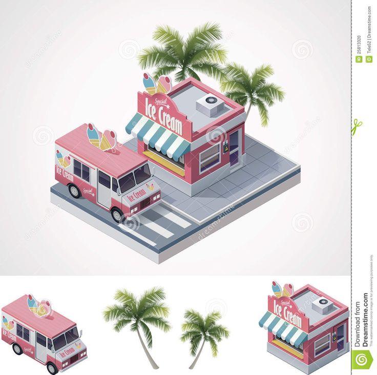 vector-isometric-ice-cream-store-truck-25813320.jpg 1.307×1.300 pixels