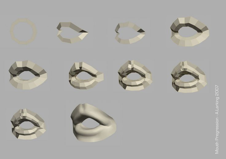 A. 'Larky' Larking - FaceTopology - polycount