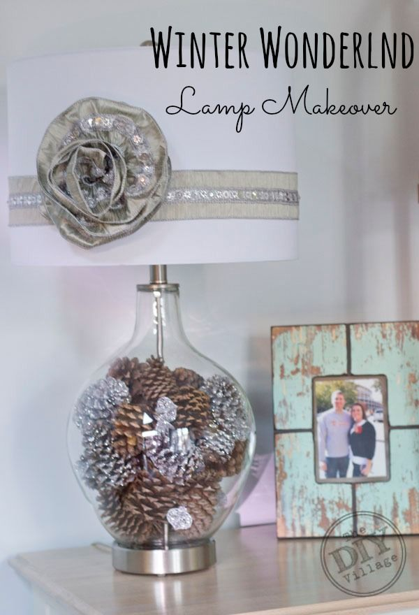31 Best Pine Cone Lamp Images On Pinterest Home Ideas