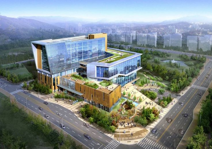 Seoul Seonam Hospital Design Exterior 1 800 565 Architecture Pinterest South