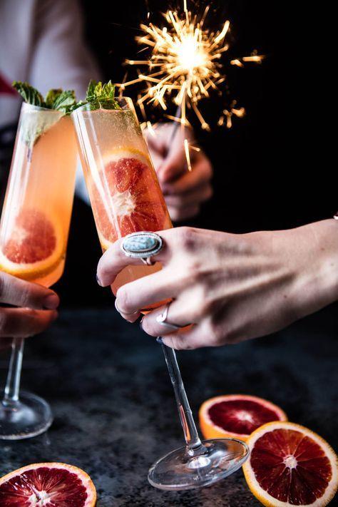 Blood Orange Champagne Mule | http://halfbakedharvest.com /hbharvest/