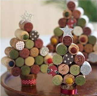 Christmas tree cork trees
