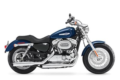 Top 10 motorcycles for women harley-davidson sportster 1200