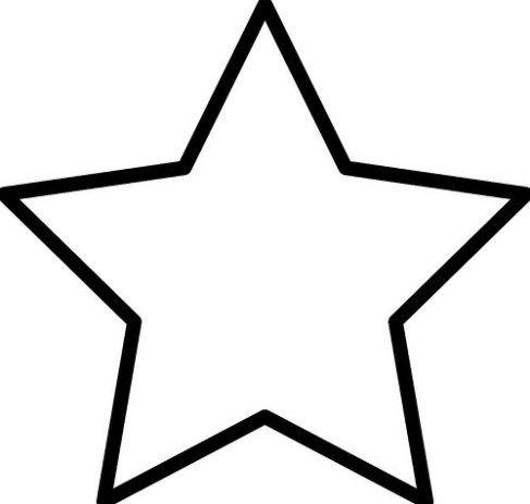 Imágenes de Estrellas para Colorear e Imprimir   Lamparas bonitas