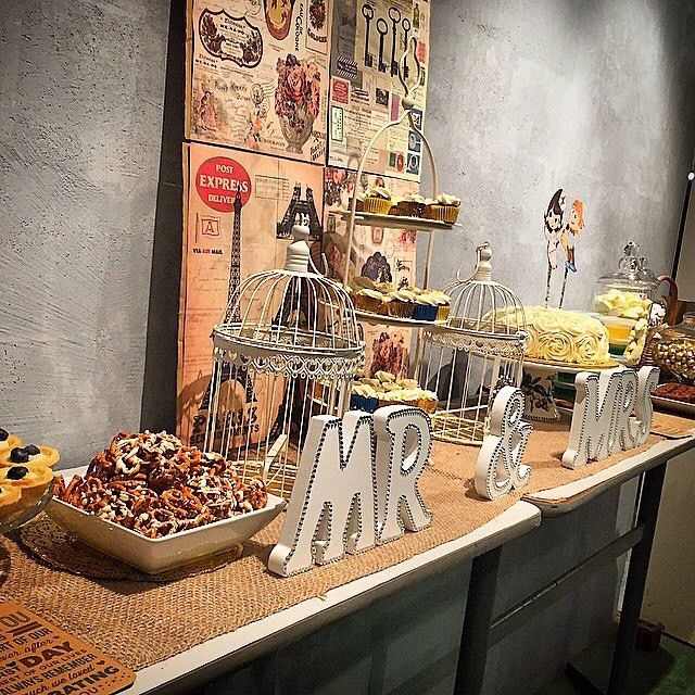 Sweets Buffet for our after party #candybuffet #sweet #wedding