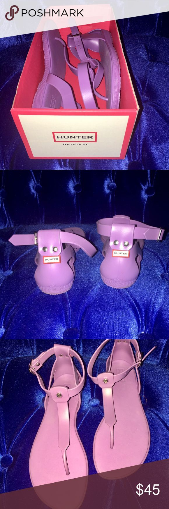Hunter sandals Hunter sandals in purple (lilac) Hunter Shoes Sandals