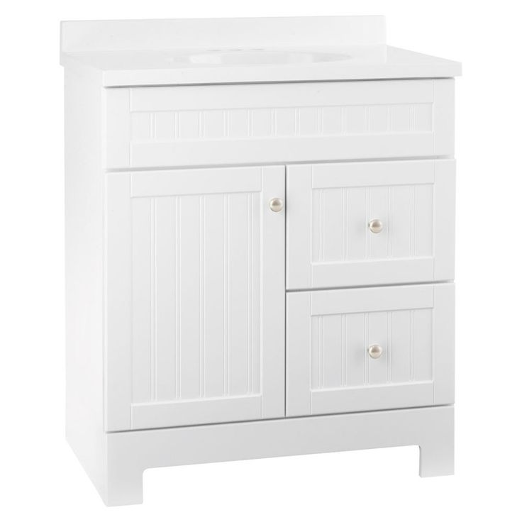 Best Photo Gallery For Website Ellenbee in x in White Bathroom Vanity with Cultured Marble Top