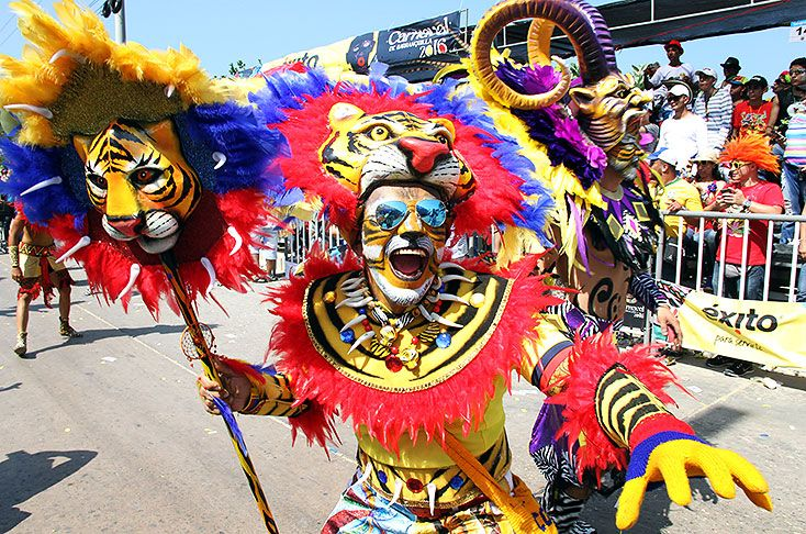 Guia de eventos carnaval de Barranquilla 25 de febrero 2017