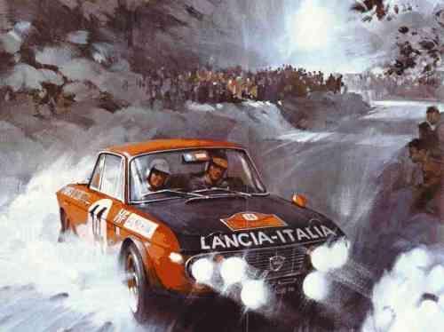 Lancia Fulvia Coupe HF Fanalone