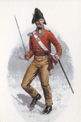 Company Officer, 76th (Hondoostan) Regiment of Foot, Corunna 1809