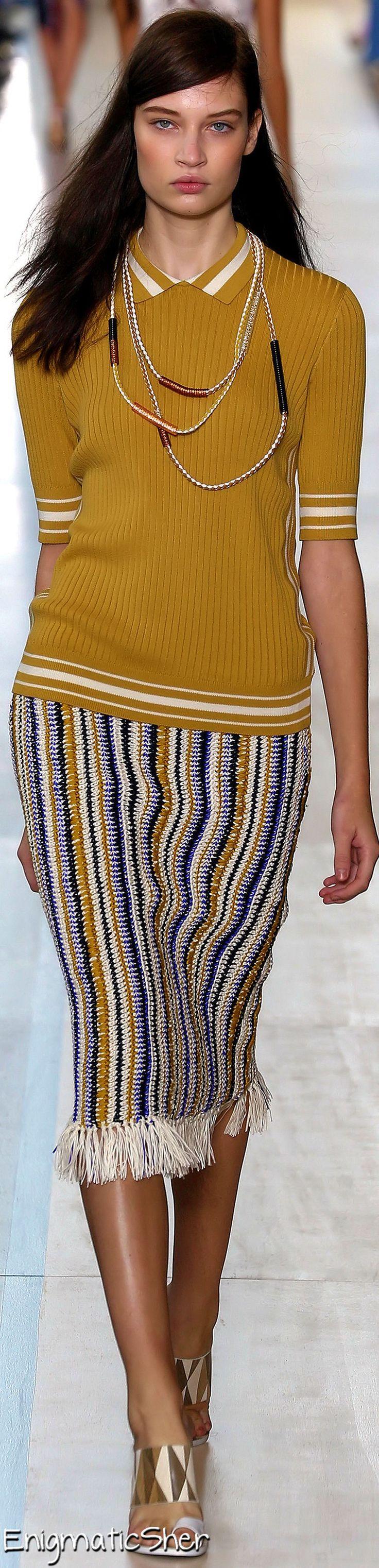 Farb-und Stilberatung mit www.farben-reich.com - Tory Burch Spring Summer 2015 Ready-To-Wear