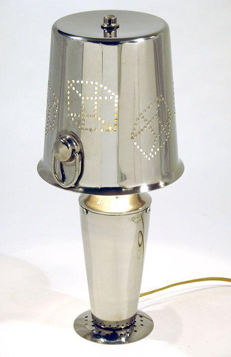 T.O.M.T.cocktail lamp.  I love the remake of old materials and this one is perfect for any home bar.