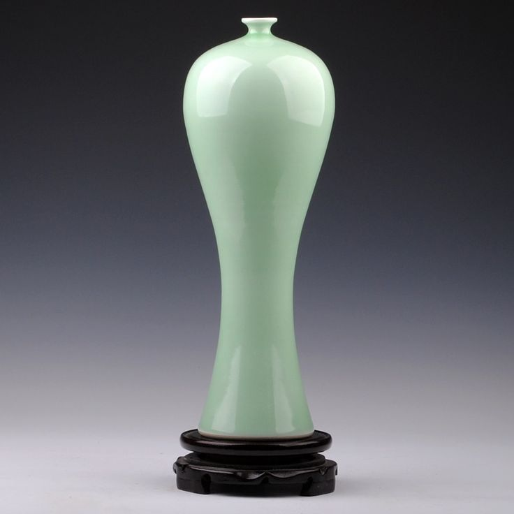 Jingdezhen ceramics annunciation vase Chinese style living room furnishing articles gifts home decoration arts and crafts