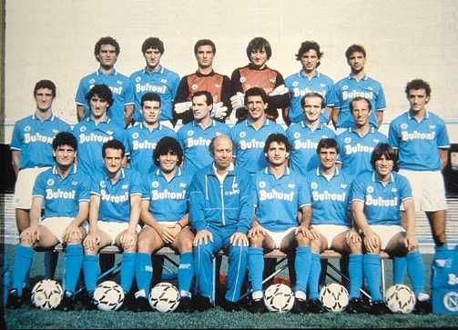 Squadra 1989/1990 SSC Napoli <3 :)