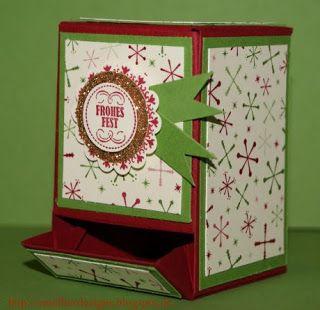 Omellie's Designs: Mini-Schokispender Anleitung / Mini Candy Dispenser Tutorial