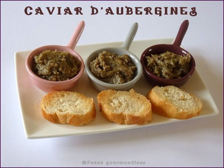 Caviar d'aubergines (thermomix)