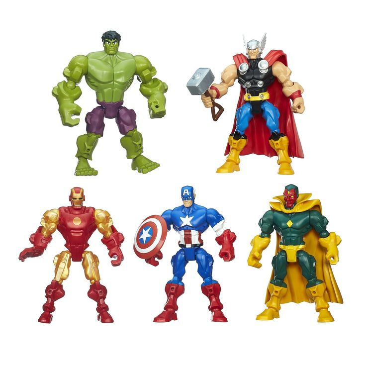 Marvel Super Hero Mashers Avengers Mash Pack. Create your own Marvel adventures with the world's greatest collection of Super Heroes. Choose from figures, vehicles, and role play toys for heroes of all ages each sold separately. Marvel toys from Hasbro feature iconic characters like Spider-Man, the Avengers, the X-Men, and other favorites. Re-create the excitement of Marvel's hit TV shows and blockbuster movies. Build the ultimate collection of figures featuring Marvel's legendary...