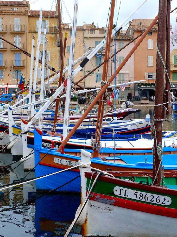 Port de Saint Tropez, Côte d'Azur, France