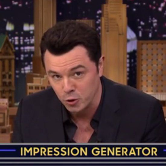Best Seth Macfarlane Images On Pinterest Beautiful Men - Comedian absolutely nails celebrity impressions