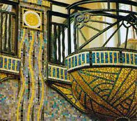 Balcons de l'hotel d'Anjou, décoré par Isidore Odorico
