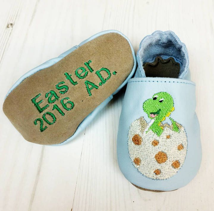 31 best personalised easter toys images on pinterest born bespoke personalised easter dinosaur baby shoes negle Image collections
