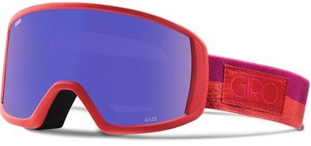 The Giro Gaze snow goggles meld classic style with modern technology and are crafted specifically for women. The Expansive View Technology frame design provides maximum peripheral vision. Available at REI, 100% Satisfaction Guaranteed.