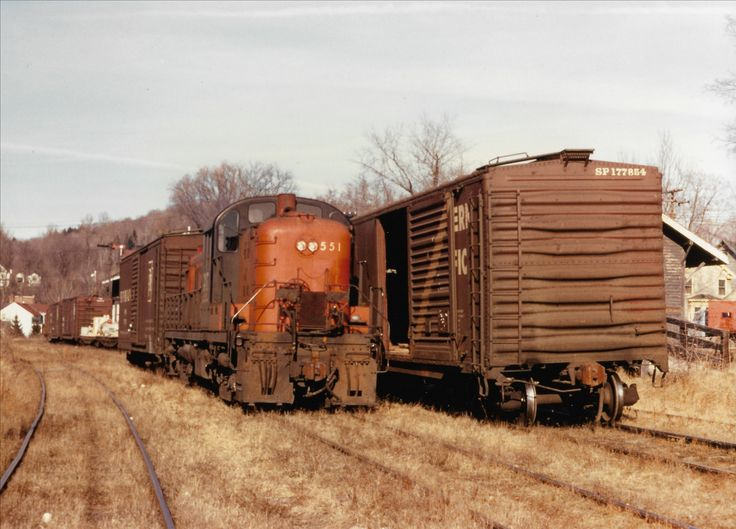 277 best new haven railroad images on pinterest railroad for New penn motor freight tracking
