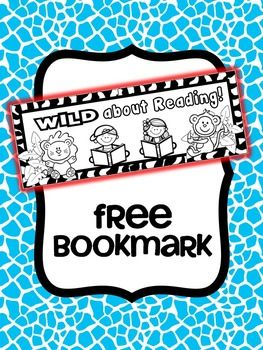 WILD about Reading - Bookmarks {FREE}